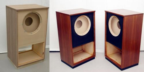 Copy of Tannoy Windsor cabinet in Walnut
