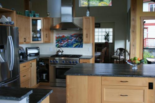 Natural Alder kitchen