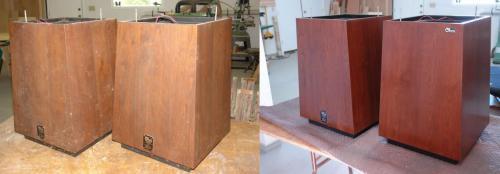 Ohm speakers restored