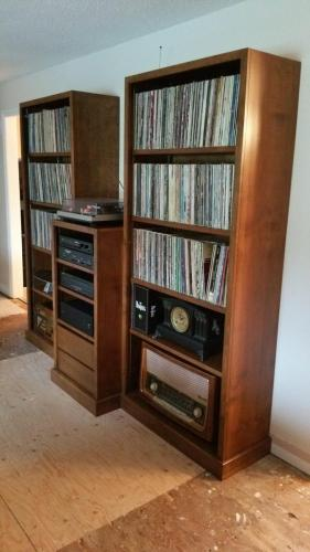 Record and component furniture