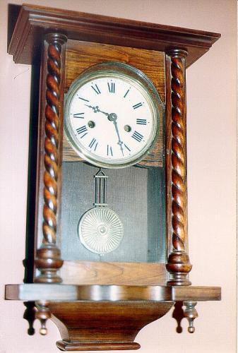 Rosewood American wall clock