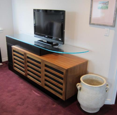 Teak Entertainment Cabinet